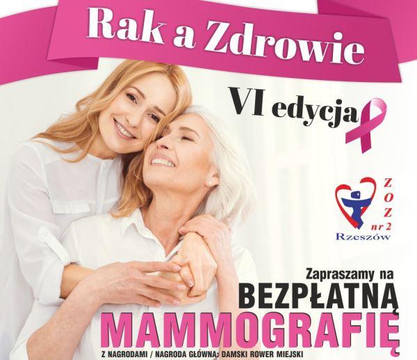 Bezpłatna mammografia z nagrodami